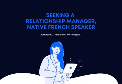 Relationship Manager (French speaking)